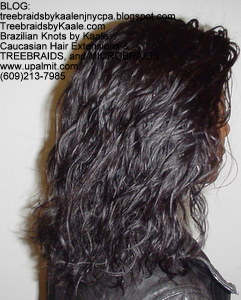Tree Braids by Kaale- cornrow treebraids virgin Brazilian curly Remy hair, RightTall.