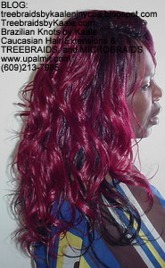 Tree Braids by Kaale- Cornrows with Double Breasted style Right2752.
