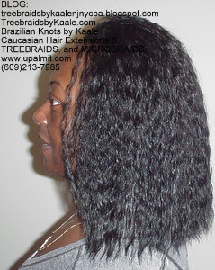 Tree Braids by Kaale- cornrow treebraids and Spanish Bulk hair- L.