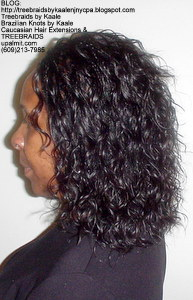Tree Braids by Kaale- Individual Treebraids with wavy hairLeft2708.
