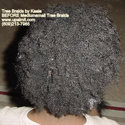 Wavy and curly tree braids- transitioning, nappy hair.