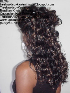 Tree Braids by Kaale- cornrow treebraids with over 3 packs of hair Left6202013.
