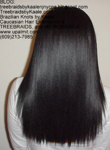 Tree Braids by Kaale- traditional cornrow treebraids done very small Back42813.