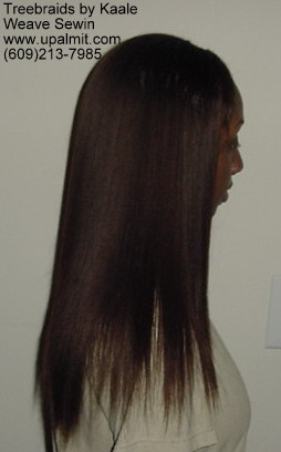 Straight hair extensions, Sewin- Right11.