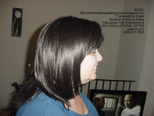 Track or Weft hair extensions.