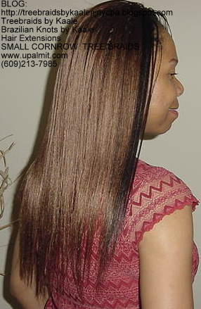 Small cornrow treebraids- straight Right2157.