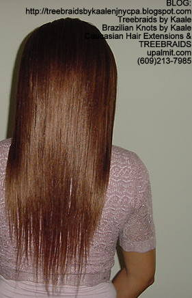 Treebraids- Small size, with straight hair Back2160.