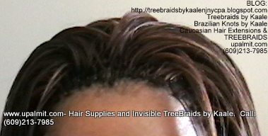Tree Braids- Cornrows with straight human hair Top2311.