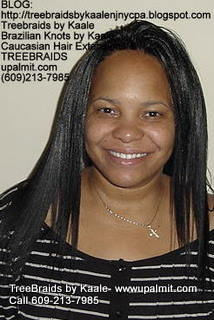Treebraids with Straight human hair Front2195.