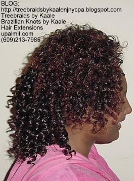 Track or Weft hair extensions- Right.