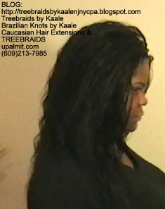 Tree Braids- Individuals with Deep Bulk human hair Right2294.