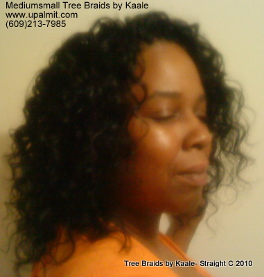 Curly Tree Braids- Mediumsmall, Right 2.
