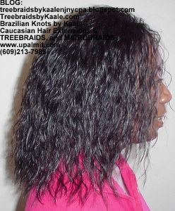 Tree Braids by Kaale using Brazilian hair- one 4oz bundle- Right