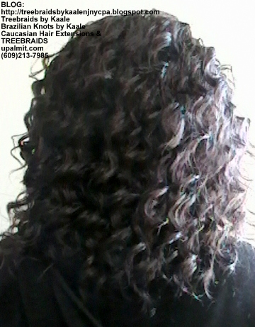Tree Braids- Individuals with Wavy hair Back2372.