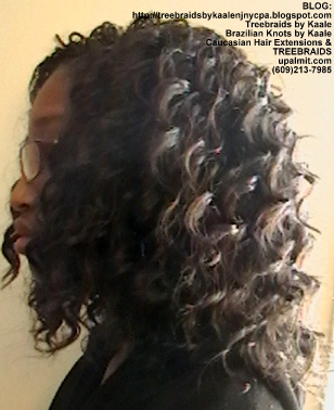 Tree Braids- Individuals with Wavy hair Left2373.