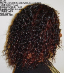 Tree Braids by Kaale- Cornrows with Straight Yaky hair RightStr B.
