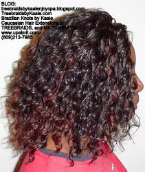 Tree Braids by Kaale- Cornrows with Straight Yaky hair BackYaky.