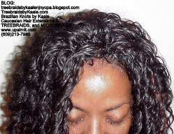 Tree Braids by Kaale- Cornrows with Deep Bulk hair Top2614.