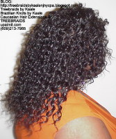 Tree Braids by Kaale- Cornrows with Straight Yaky hair RightSt.