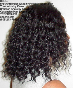 Tree Braids by Kaale- Cornrow treebraids with deep bulk hair Right4yrs.