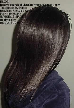 Microbraids- Invisible Braids are braided a little, then let loose- Right74.