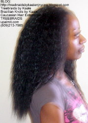 Tree Braids with KAALE Brand Ripple human hair Right372.