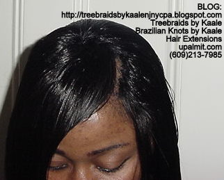 Track or Weft hair extensions- Top.