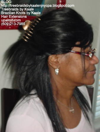 Weft or Track hair extensions.