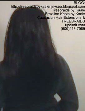 Tree Braids- with virgin Indian remy human cuticle hair Back2247.