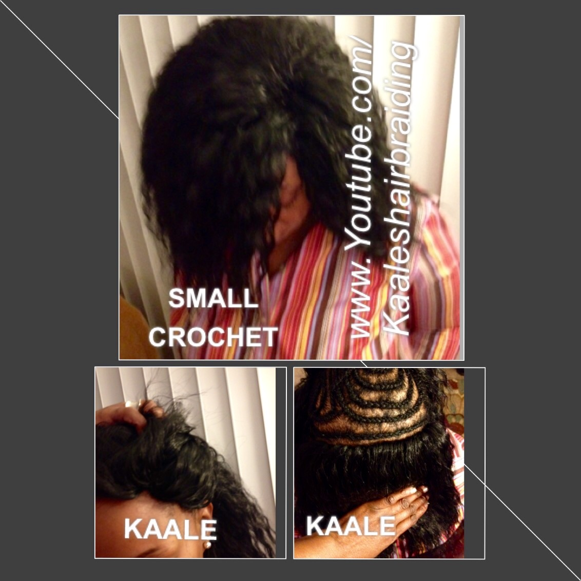 Tree Braids by Kaale- crochet braids, vixen crochet braids using loose hair.