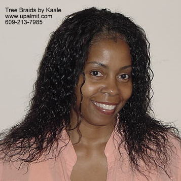 wet and wavy individual treebraids 1.