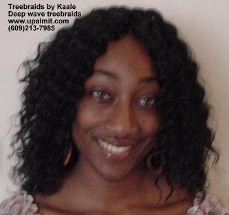 Treebraids by Kaale- deep wave hair.
