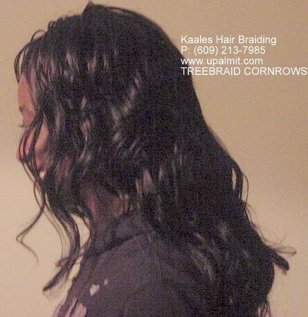 Treebraids by Kaales African hair braiding (609) 606-2893.