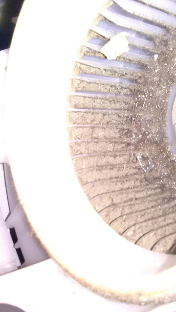 Prius 2010-2015 dirty hybrid battery cooling fan