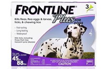 Frontline Plus for Dogs Large Dogs