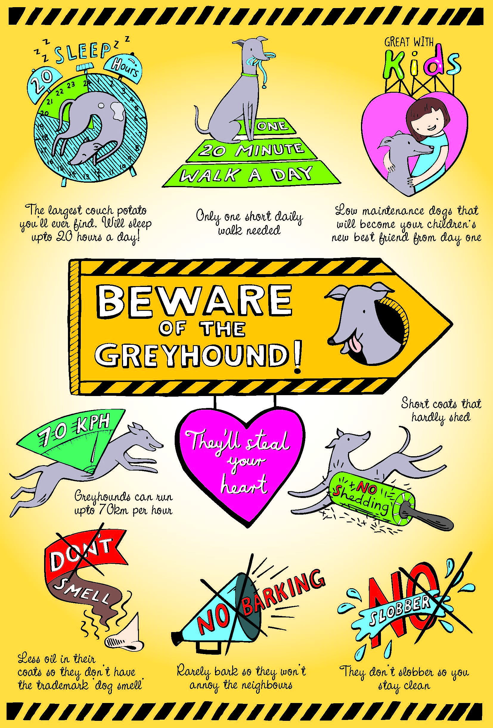 The Benefits of Owning a Greyhound [Infographic]