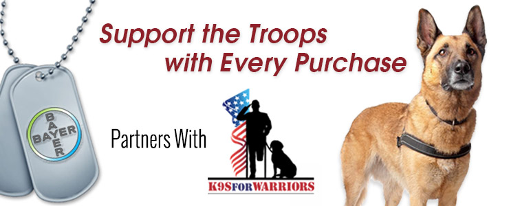 Support the Troops with Every Purchase – Bayer Partners with K9s For Warriors