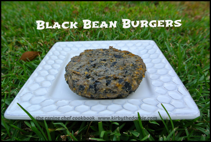 Black Bean Burgers Dog Food Recipe