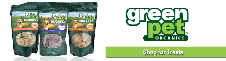 Green Dog Treats from EntirelyPets
