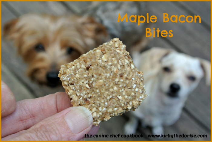 Maple Bacon Bites Dog Treat Recipe