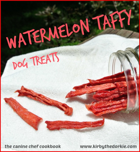 Watermelon Dog Taffy Treats Recipe