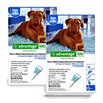 Advantage Flea Control 12 Month Blue