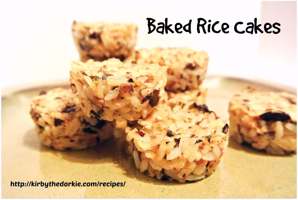 Baked Rice Cakes Recipe