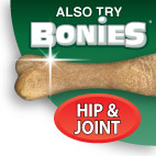 Try Bonies Dental Bones - Hip & joint Formula