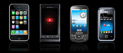 Compatible cell phones