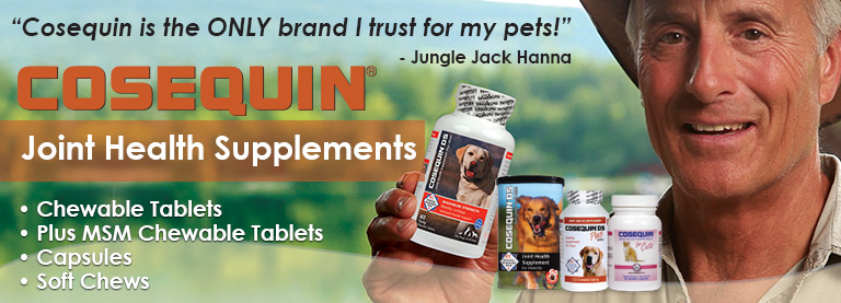 Find Cosequin DS for Dogs and Cosequin for Cats available at low prices here at EntirelyPets!