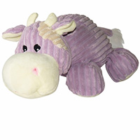 Dogit Luvz Plush Toy - Purple Cow breh