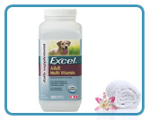 NEW! Excel Multi Vitamin for Adult Dogs (180 tabs)