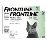 Frontline Removes Fleas and Ticks on Catss