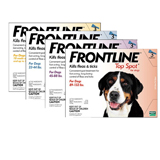 Frontline Top Spot Removes Fleas and Ticks on Dogs